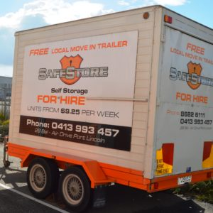 Removal Hire Trailer
