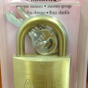 Padlock (Solid Brass) A88/45